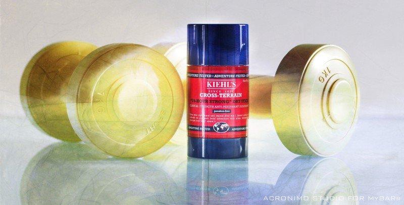 deodorante Cross-Terrain Kiehl's senza parabeni mybarr