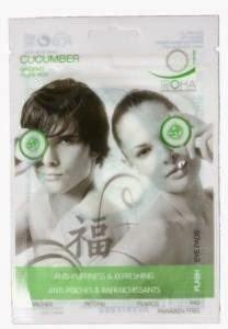Iroha cucumber ginseng eye pads