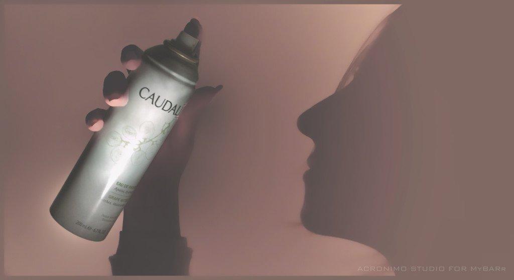 Eau de raisin di Caudalie è l'acqua di usa prodotta da vendemmie bio da nebulizzare sul viso per una freschezza inebriante - mybarr