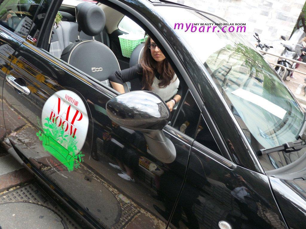 stress vanity fair nap room fuorisalone tearose mybarr car fiat 500