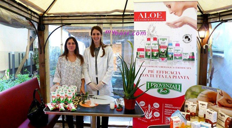 Provenzali evento blogger Milano linea aloe vera #biovero mybarr