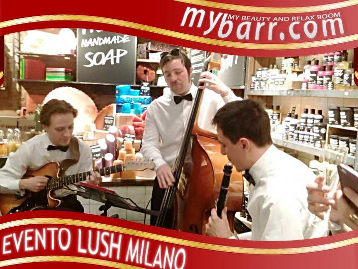 stazione Milano centrale inaugurazione Lush skincare naturale mybarr