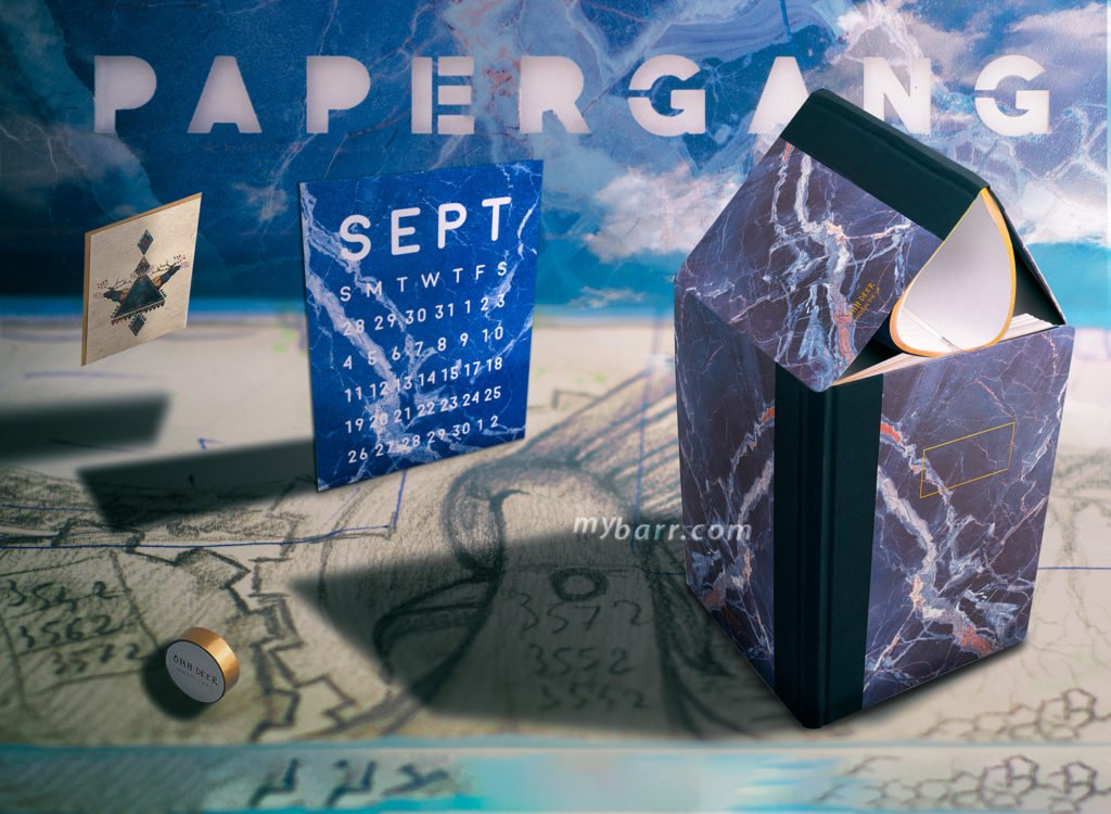 box mensile di cancelleria Papergang Ohh Deer stationery box mybarr