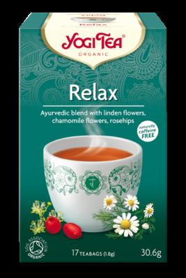 tisane e infusi bio rilassanti opinioni yogi tea relax mybarr