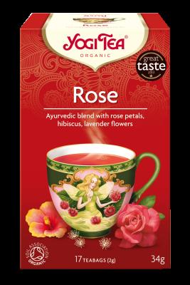 tisane e infusi bio rilassanti opinioni yogi tea rosa mybarr
