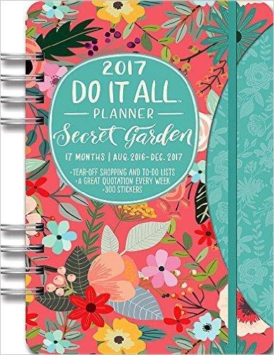 agende 2017 secret garden amazon