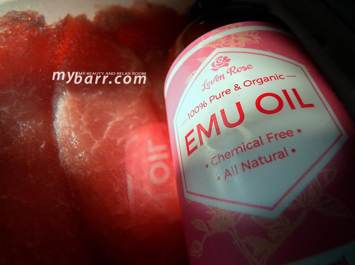 olio di Emu Emu oil Leven Rose opinione mybarr