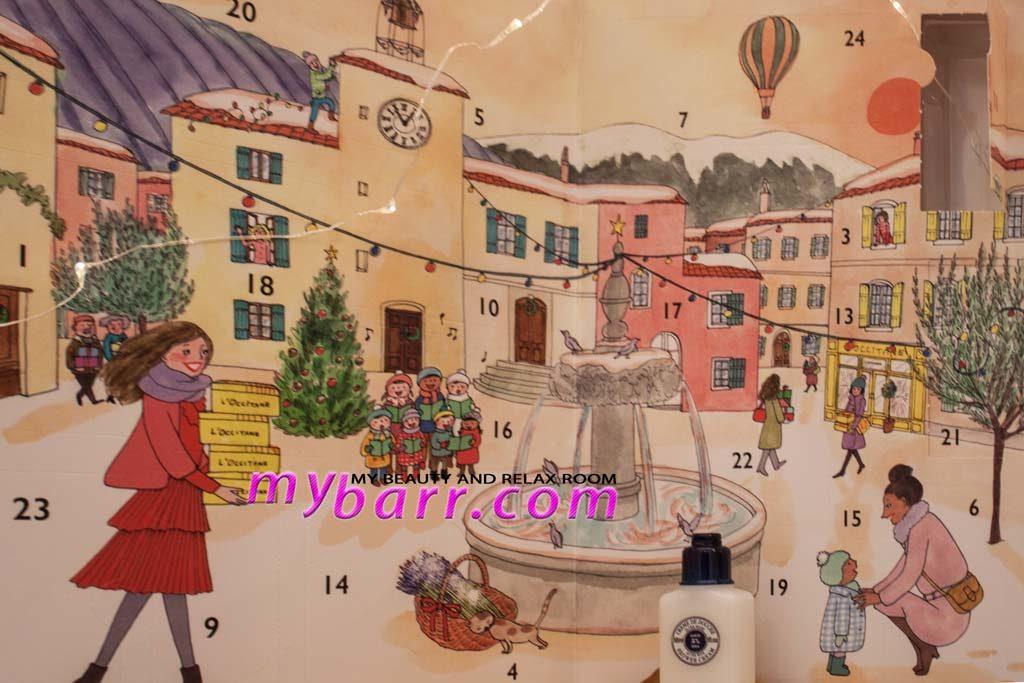 natale 2017 l'occitane calendario avvento classico mybarr