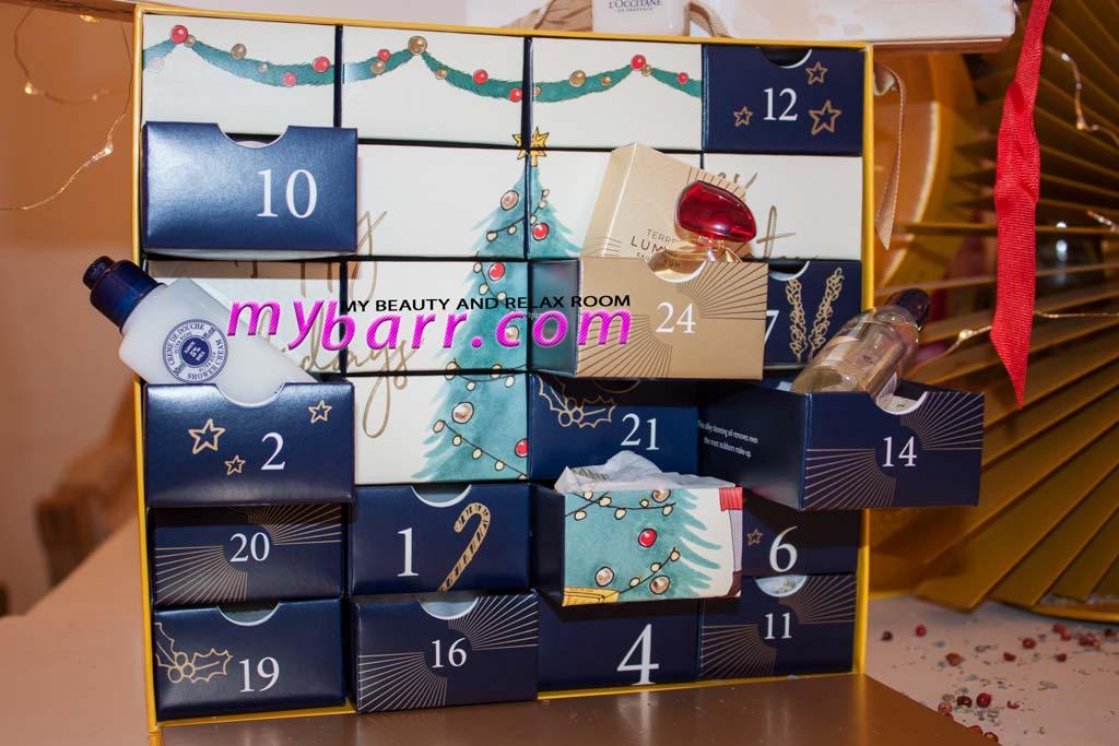 natale 2017 l'occitane calendario avvento premium mybarr