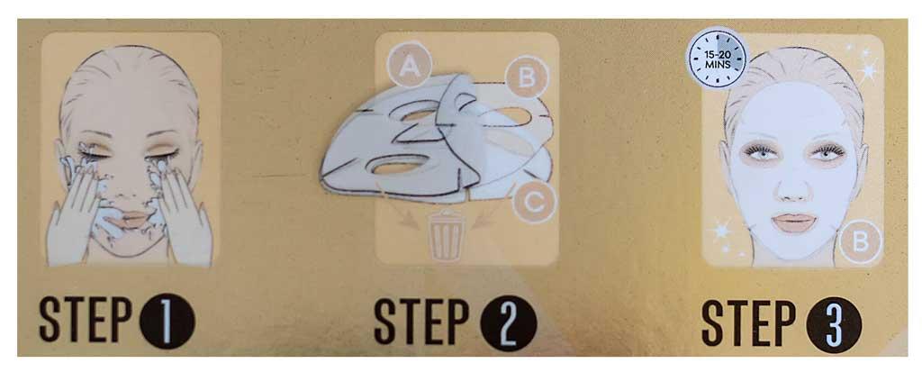 Starskin gold mask: istruzioni per l'uso della maschera viso oro - mybarr