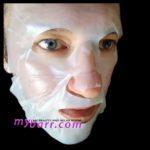 Starskin gold mask, maschera viso in biocellulosa - la prova di mybarr