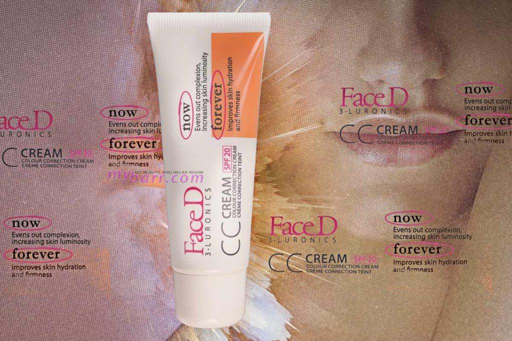 cc cream faced 3-luronics spf 20 review mybarr