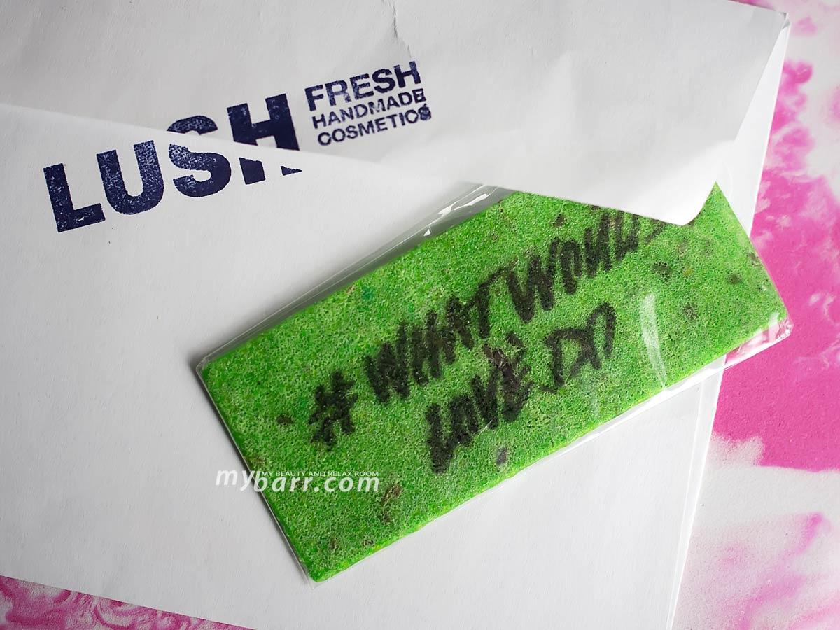 wash card lush biglietto detergente personalizzabile mybarr