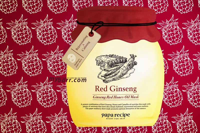 Papa Recipe Mask la Bombee Ginseng Red Honey Oil Mask - opinione mybarr