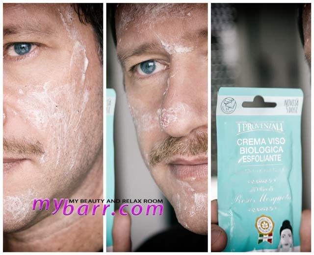 Prova della crema viso biologica I Provenzali mybarr
