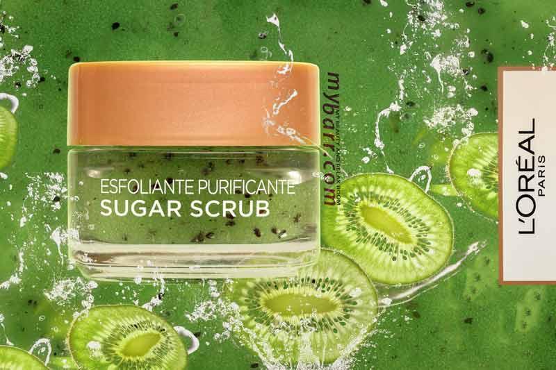 sugar scrub l'oreal esfoliante purificante pelli grasse e miste mybarr opinioni
