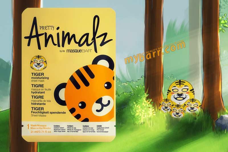 masquebar animalz pretty tiger mask mybarr