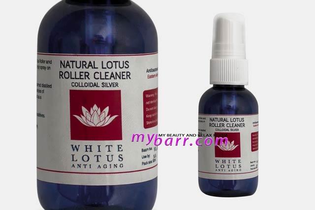 natural lotus roller cleaner white lotus rullo di giada