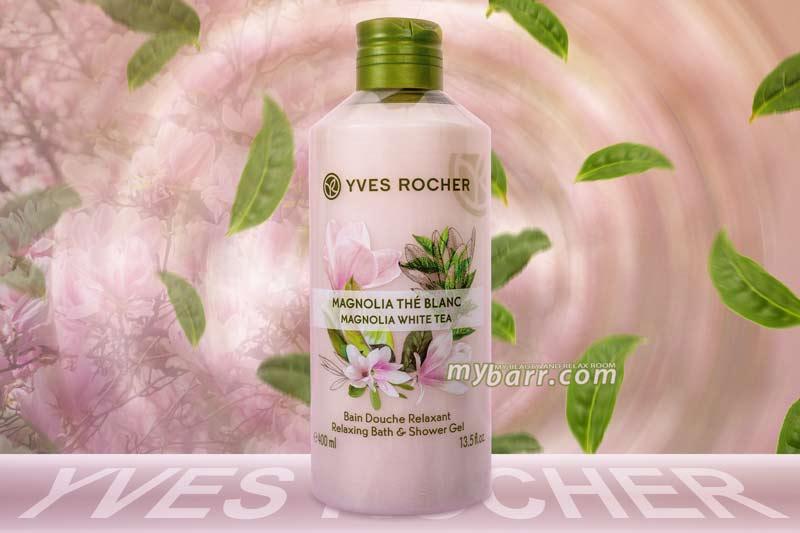 Bagno Doccia Avena Yves Rocher : Bagno doccia yves rocher rilassante con magnolia e tè bianco mybarr