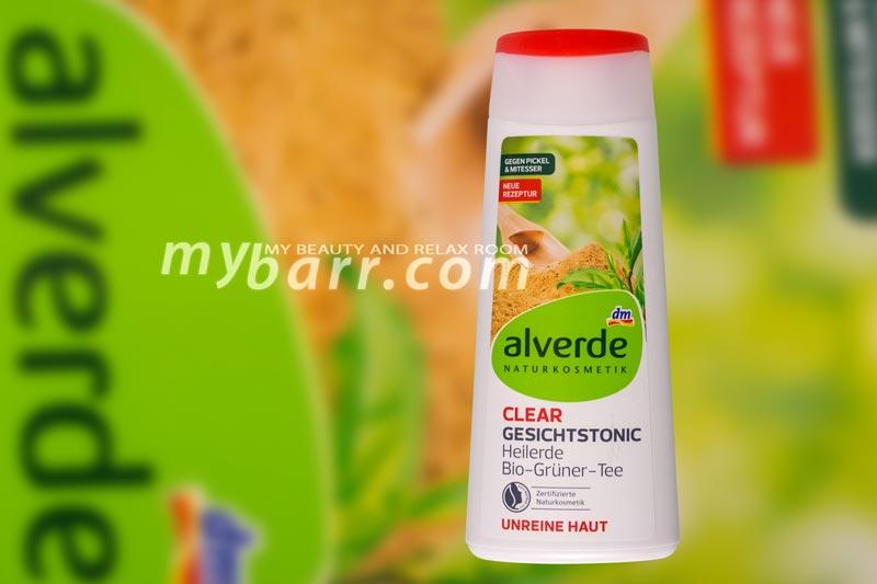"Alverde tonico viso bio ""gesichtstonic Heilerde"" mybarr"