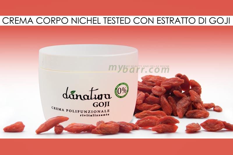 crema corpo danatura by amerigo al goji nichel tested