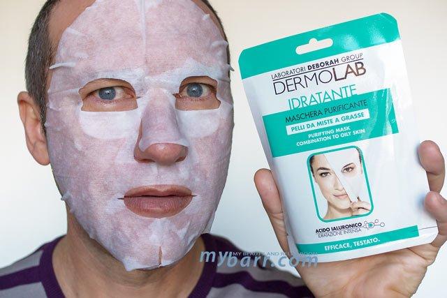 Dermolab maschera purificante prova prodotto mybarr