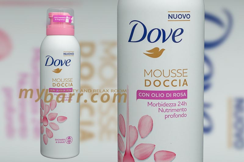 Bagno Doccia Dove : Mousse doccia dove all olio di rosa per una rasatura delicata mybarr