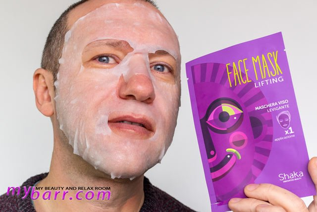 maschera lifting shaka prova prodotto mybarr