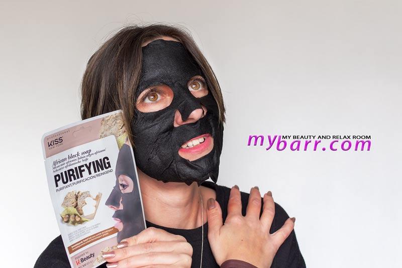 maschera viso kiss new york black soap purifying prova prodotto mybarr