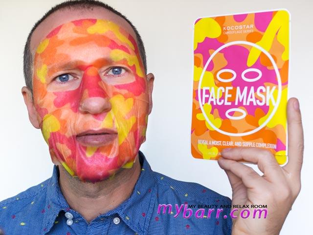maschera viso Kococstar face mask esclusiva Sephora mybarr