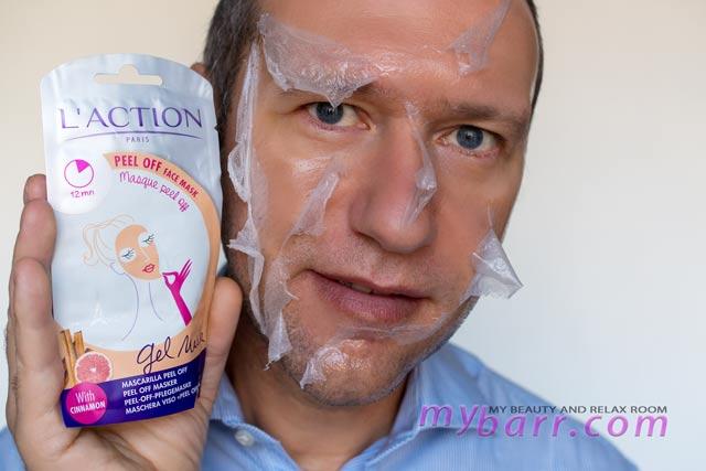 l'action paris peel off gel mask mybarr