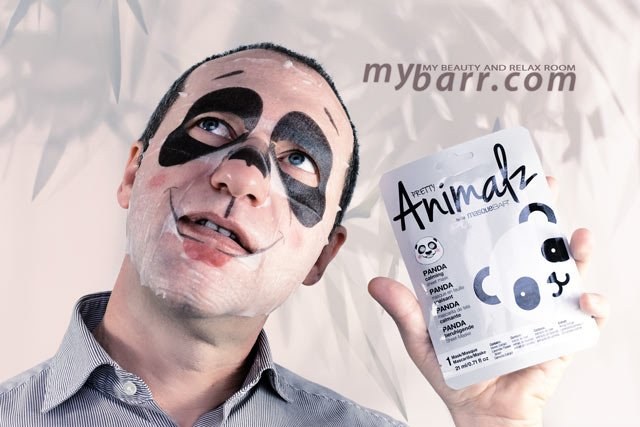 Masque Bar Animalz maschera panda lenitiva con propoli made in Corea disponibile da Shaka OVS mybarr