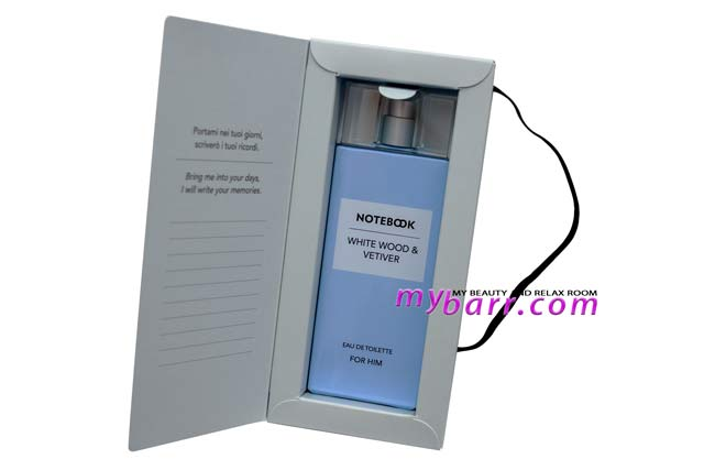 Notebook Fragrances profumo uomo