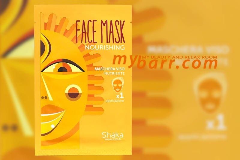 Shaka maschera nutriente viso mybarr
