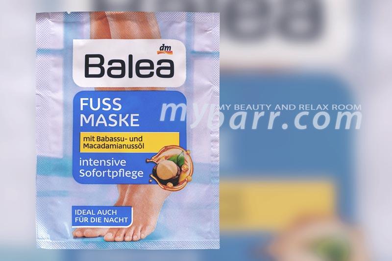balea maschera piedi fuss maske mybarr