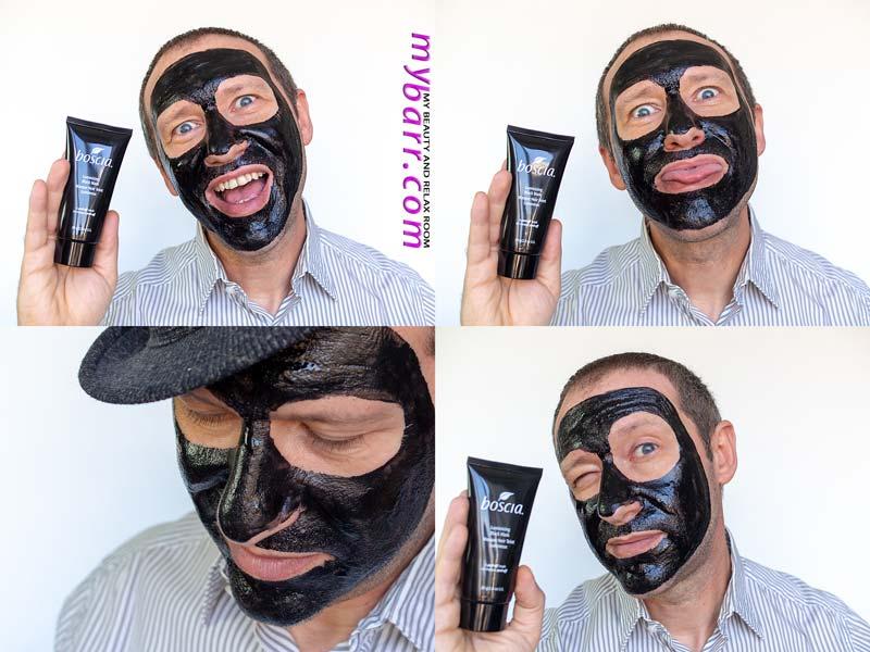Boscia illuminizing black mask mybarr prova prodotto