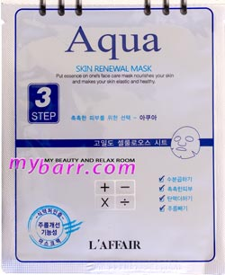 L'Affair Aqua skin renewal mask mybarr