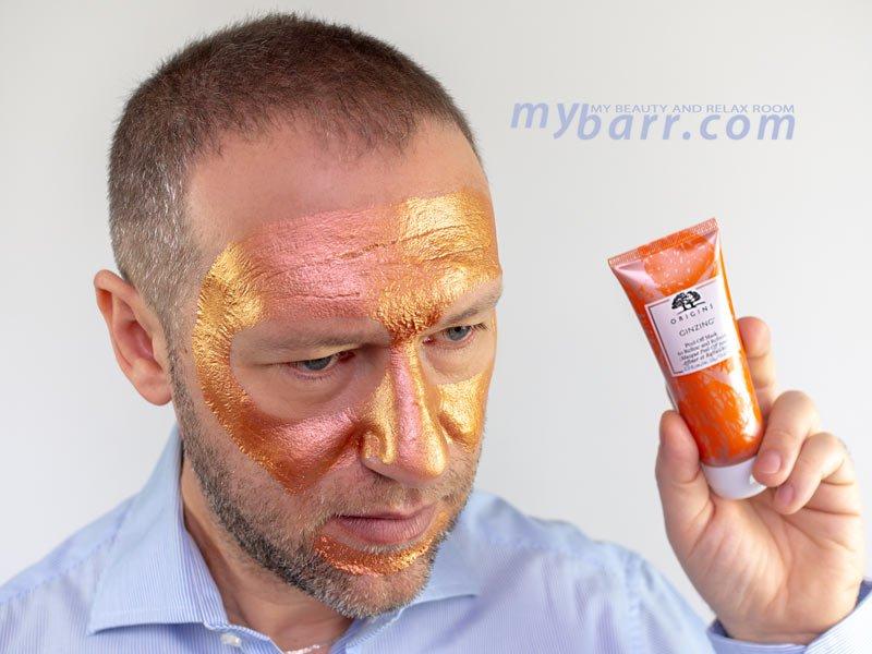 Origins Ginzing peel off mask maschera viso detox e lisciante mybarr
