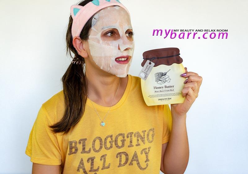 maschera viso per pelle secca honey butter idratante papa recipe mybarr