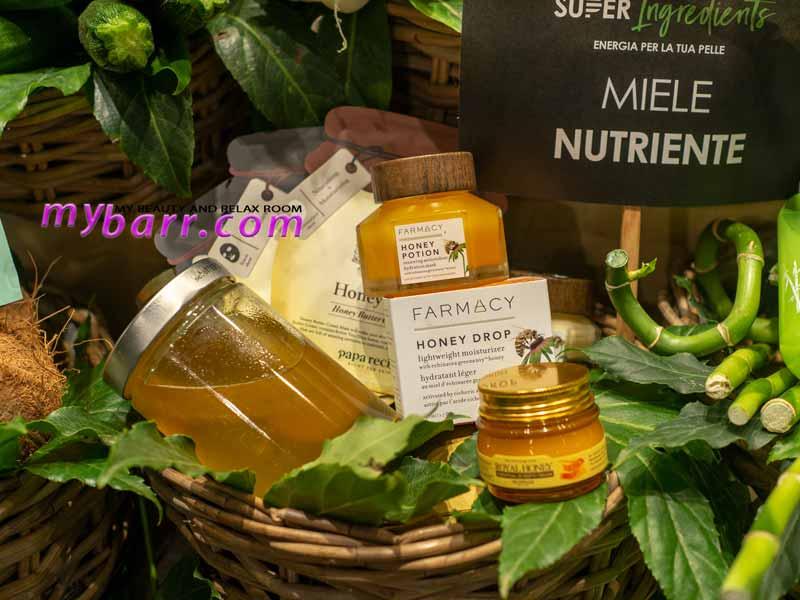 superfood skincare prodotti miele sephora mybarr
