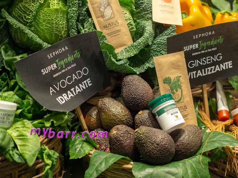 superfood skincare sephora prodotti avocado mybarr
