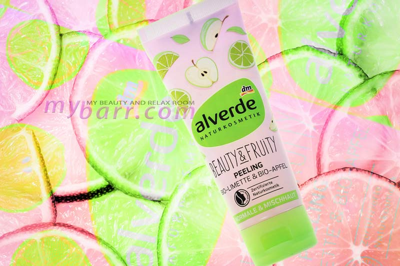 Alverde peeling beauty & fruity lime e mela biologici mybarr