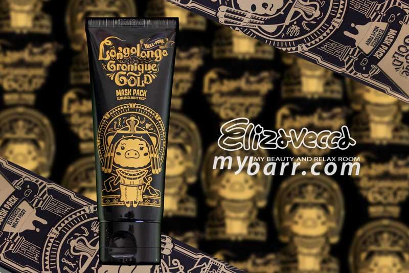 maschera peel off oro elizavecca longolongo cronique gold mask pack mybarr