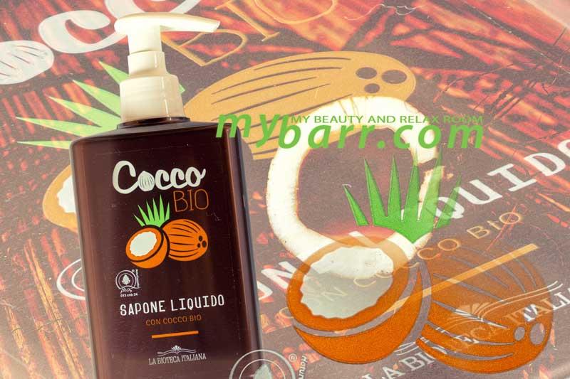 la bioteca italiana sapone liquido con cocco bio mybarr