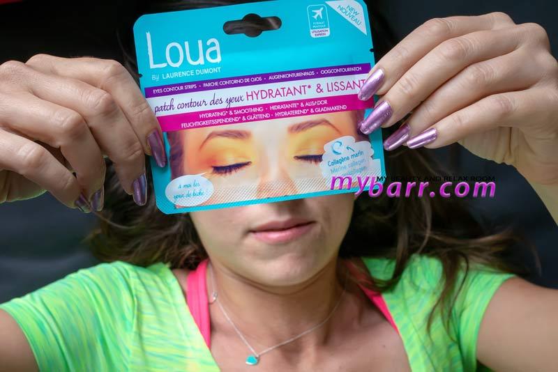 patch contorno occhi antirughe Loua idratante e levigante mybarr