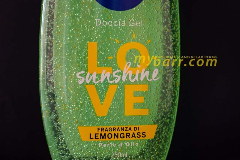 Nivea love sunshine lemongrass doccia gel rinfrescante dopo l'abbronzatura in edizione limitata mybarr
