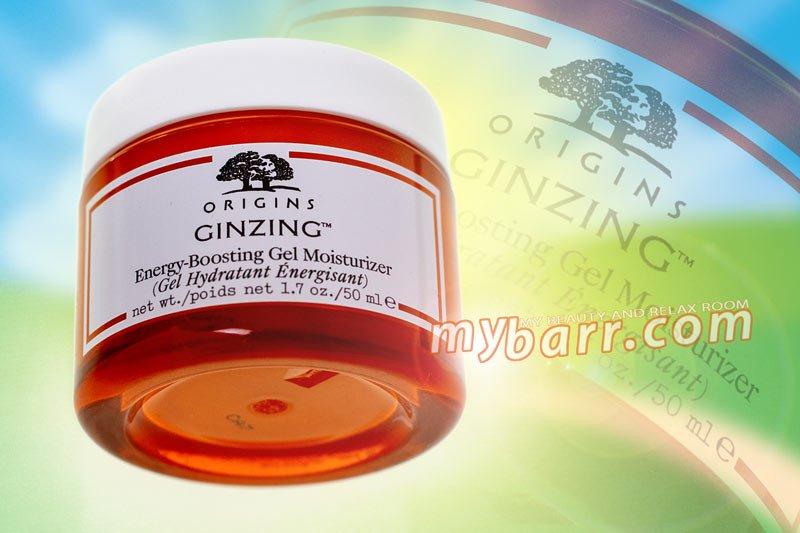 sephora origins ginzing energy boosting gel moisturizer crema viso idratante mybarr