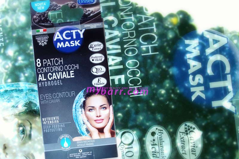 Acty Mask patch contorno occhi in hydrogel mybarr