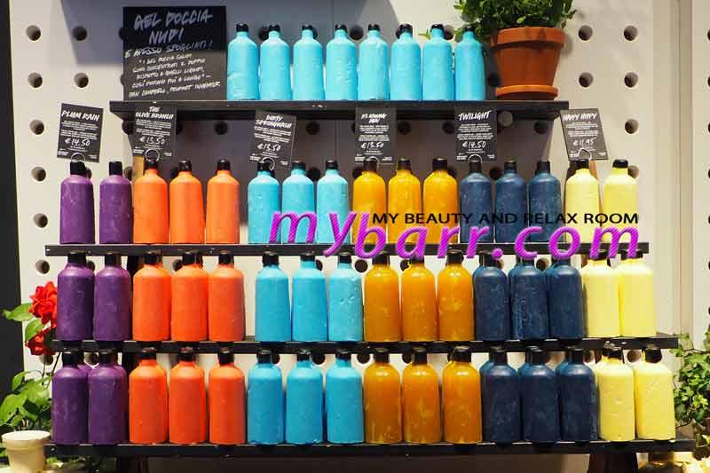 lush naked shop gel doccia nudi milano via torino mybarr