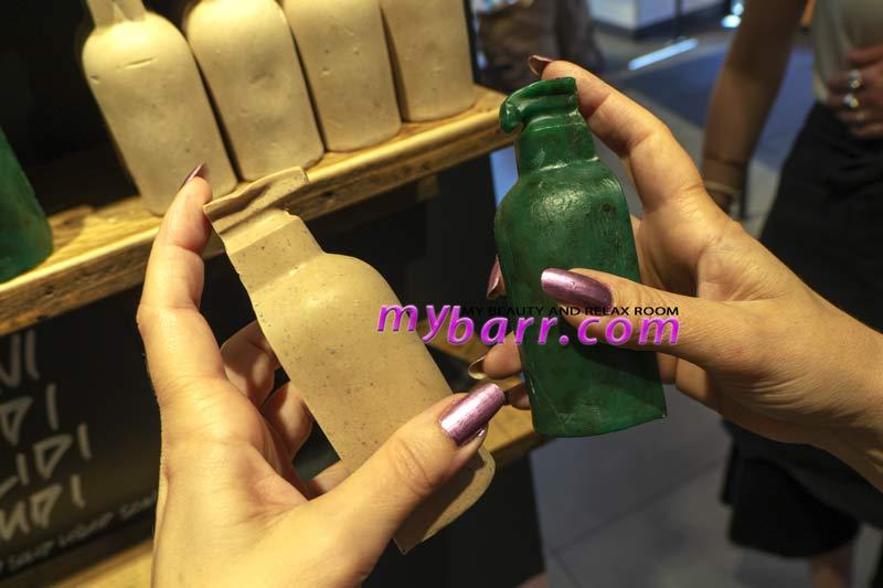 lush naked shop saponi liquidi solidi nudi oregano e oat mybarr